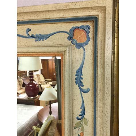 dekor spiegel spiegel holz bemalt mit dekor moinat sa antiquit 233 s