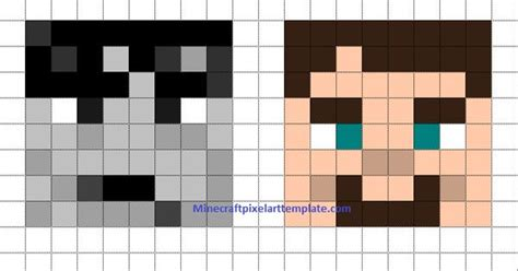 minecraft skin template grid minecraft pixel templates pixelated