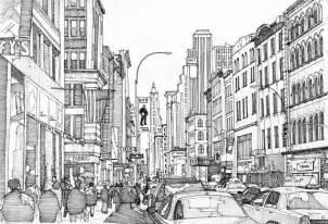 coloring york broadway 9