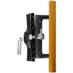Sliding Patio Door Latch Shop Wright Products 3 9375 In Surface Mounted Sliding Patio Door Handle At Lowes