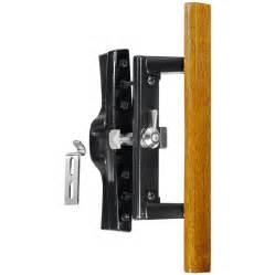 Patio Sliding Door Handle Shop Wright Products 3 9375 In Surface Mounted Sliding Patio Door Handle At Lowes