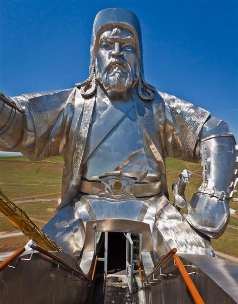 genghis khan equestrian statue wikipedia the genghis khan statue tsonjin boldog mongolia gran