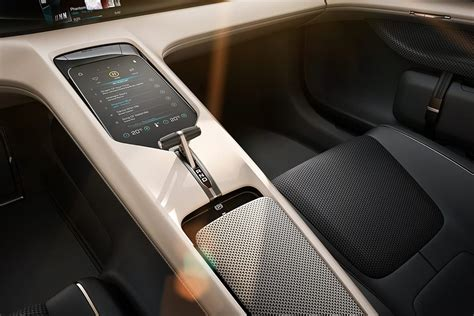 porsche electric interior porsche mission e concept interior design hiconsumption