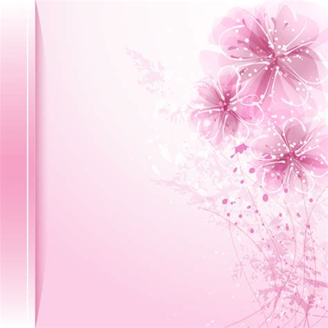background design with flowers dream background with flower design vector 04 vector