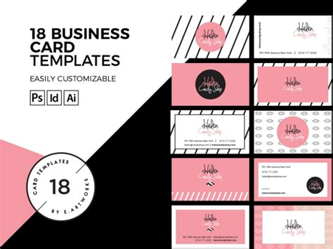 Chocolate Business Card Templates by Business Card Templates Print Business Luvly