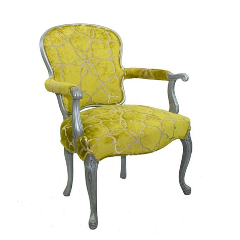 Chartreuse Chair by Velvet Chair Chartreuse