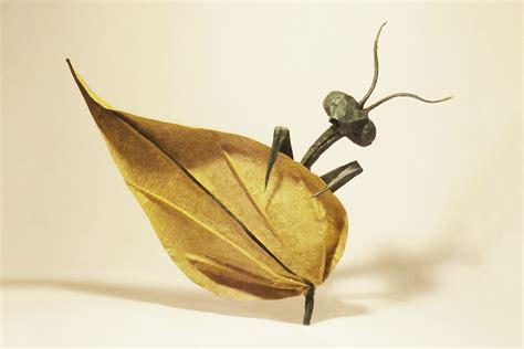 Origami Insect - 24 incredibly realistic looking origami insects