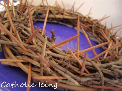 How To Make A Crown Of Thorns Out Of Paper - best 25 crown of thorns ideas on catholic