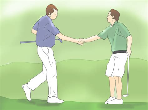 a d how to have good golf etiquette 5 steps with pictures