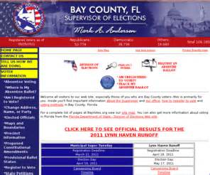 Baycoclerk Search Bayvotes Org Bay County Supervisor Of Elections