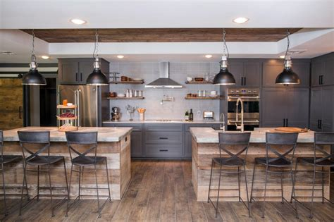 kitchen with two islands fixer design tips a waco bachelor pad reno hgtv s decorating design hgtv