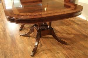 Large Formal Dining Room Tables Large Formal Mahogany Dining Table For Traditional Dining Room 13 Ebay