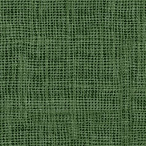 Dark Green Lightweight Linen Blend Fabric Contemporary