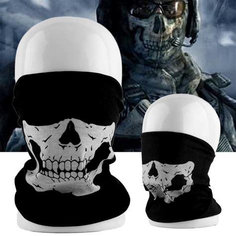 Sale Masker Sepeda Motor Lari aliexpress buy cool tubular skull ghosts ghost mask bandana motor bike sport scarf neck