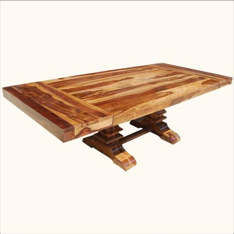 rustic reclaimed wood double trestle pedestal large 10 17 best images about furniture on pinterest nottingham