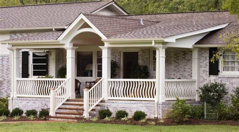 ranch style homes and porches on idolza different exterior home pictures of front porches on ranch style homes front stoop