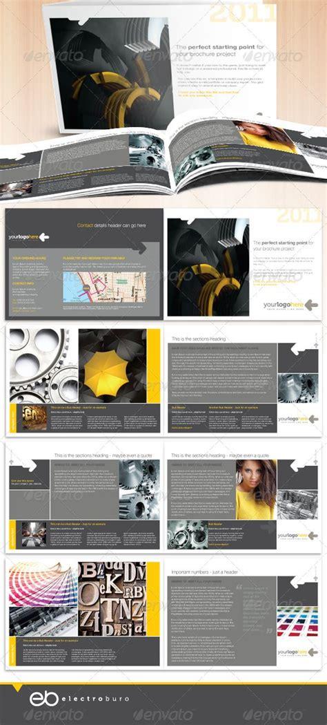 Professional Business A5 Landscape Brochure Landscapes Brochures And Business A5 Brochure Template Indesign