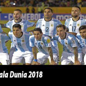 Pemain Argentina Piala Dunia 2018 Tim Nasional Argentina Piala Dunia Russia 2018 Prediksi