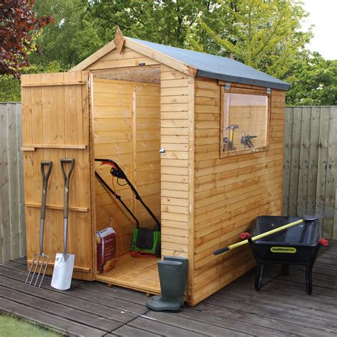 apex shiplap wooden shed departments diy  bq