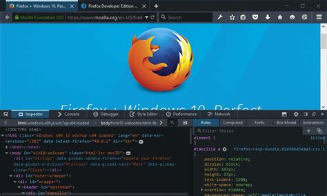 mozilla mobile themes you can now debug your mobile website via wifi using