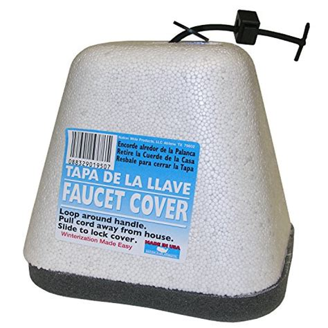 nation wide products faucet insulation cover with