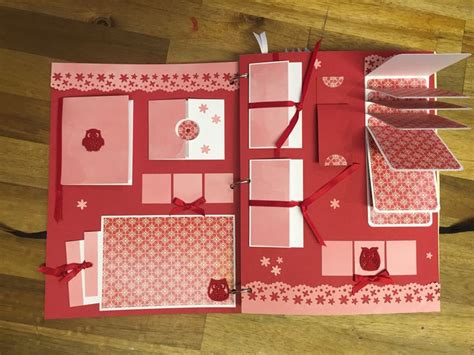 Handmade Scrapbook For Boyfriend - interactive scrapbook album at the scrapbooker mini