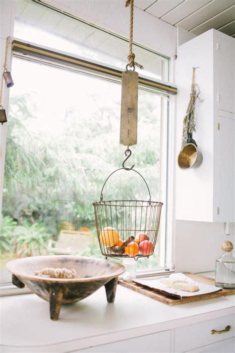 hangende fruitmand voorbeelden van mandjes  de keuken