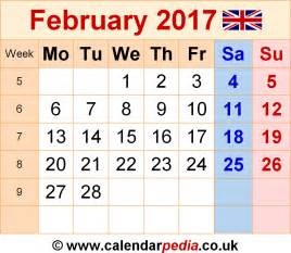 Calendar Noiembrie 2018 Calendar February 2017 Uk Bank Holidays Excel Pdf Word