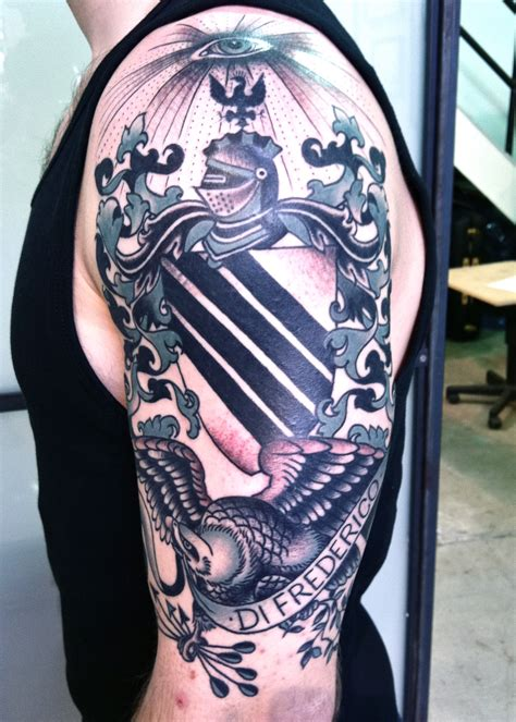 Tattoo Family Crest | coat of arms tattoo virginia elwood tattoo