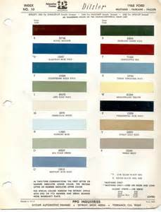 Ford Paint Paint Chips 1953 Ford Truck Lincoln Mercury Ford 2017