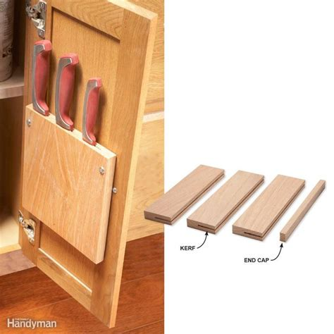 cabinet door knife holder 17 best images about why didn t i think of that on