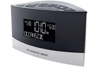 Sharper Image Gift Card Balance - sharper image sound soother white noise machine alarm clock ec b100 abt