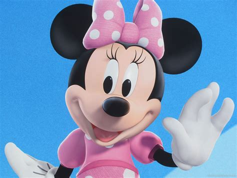 Minnie Mouse by Disney Wallpaper Free Disney Wallpapers 187 Minnie Mouse