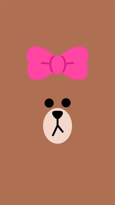 wallpaper cute line 215 best images about brown cony on pinterest eating