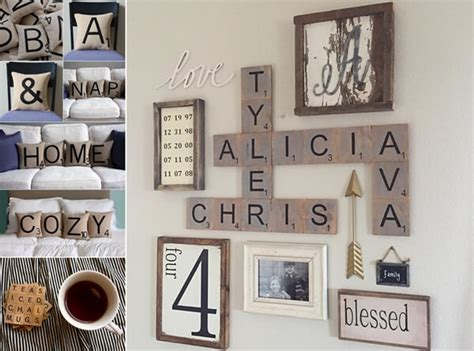 scrabble home decor 10 creative scrabble inspired home decor ideas