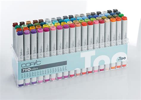 copic marker 72 pcs set c copic original 72 graphic marker pen set graphics direct