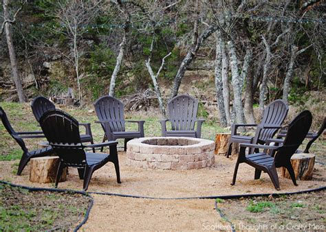 simple backyard fire pit simple diy outdoor fire pit scattered thoughts of a crafty mom