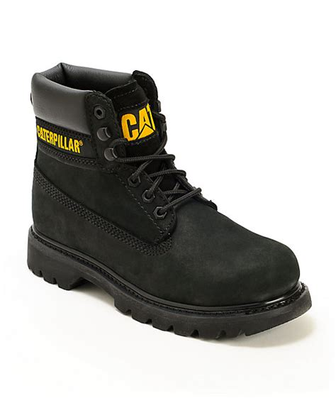 cat colorado black boots zumiez