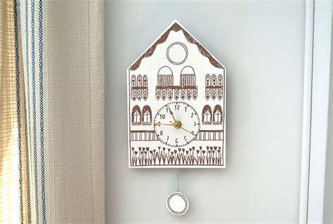 printable cuckoo clock template diy printable cuckoo clock handmade charlotte