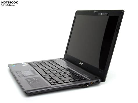 Engsel Laptop Acer Aspire 4810t review acer aspire 4810t notebook notebookcheck net reviews