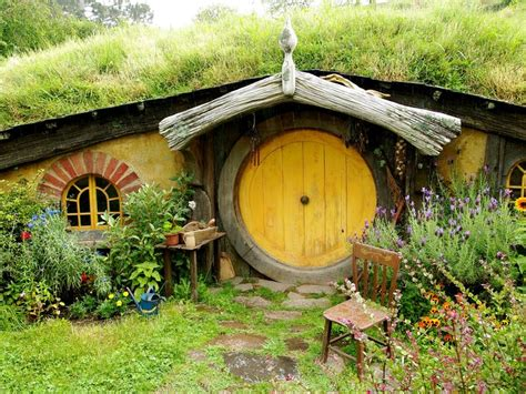 new zealand hobbit houses hobbit house in new zealand