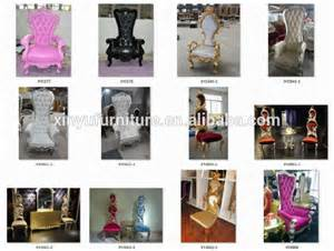neo classic wedding royal king throne chair for sale
