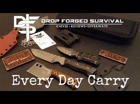 everyday carry fixed blade my every day carry edc fixed blade knives