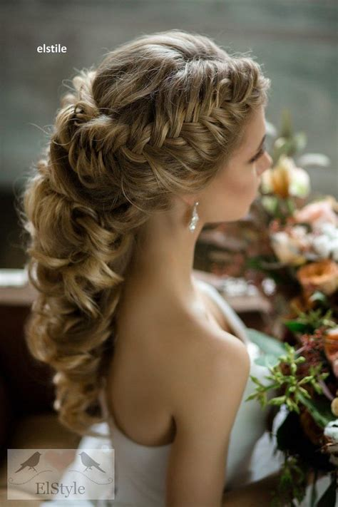 french braid wedding hairstyles long hair 20 best new wedding hairstyles to try deer pearl flowers