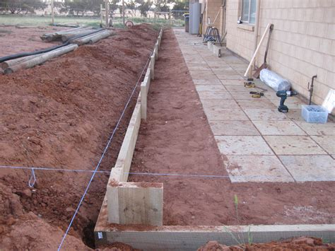 Retaining Walls Sleepers by Sleeper Retaining Wall Progress Singularo