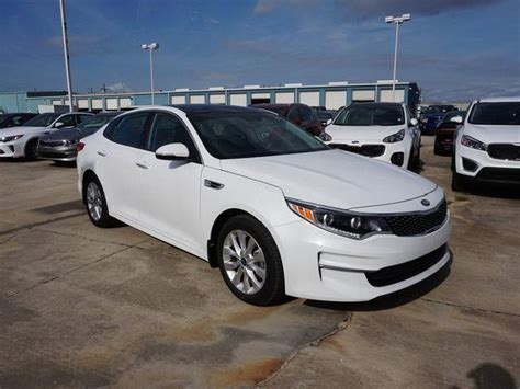 White Kia Optima 2016 Kia Optima Used Cars In Slidell Mitula Cars