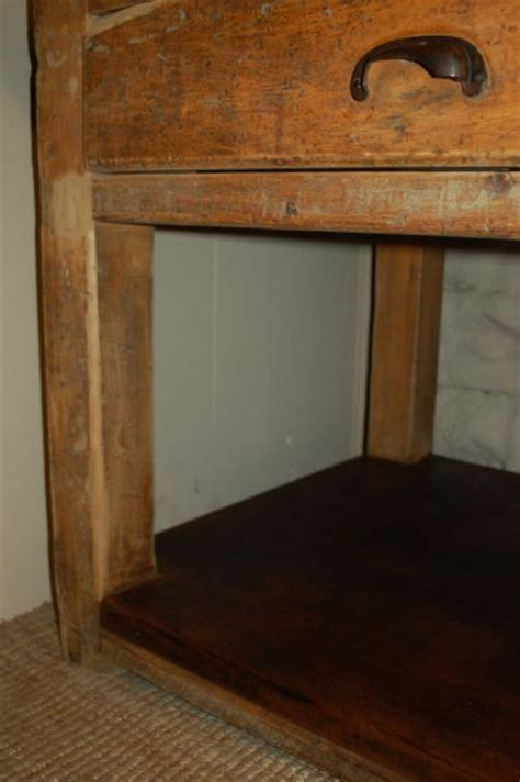 antique pine kitchen table island table baker s table