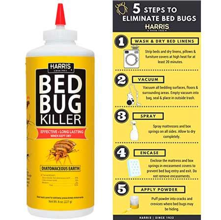 harris bed bug powder top 5 best bed bug powders and dusts from 7