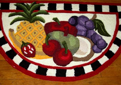 Fruit Kitchen Rugs Kitchen Updates