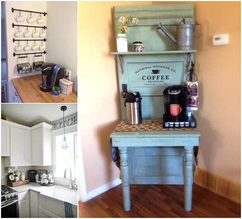 10 Corner Coffee Bar Ideas You Will Admire